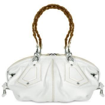 Forzieri Handtasche aus italienischem geprägtem Leder