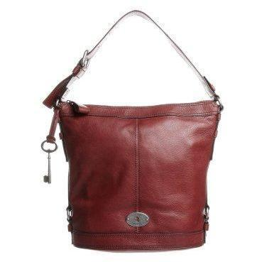 Fossil BUCKET Shopping Bag brick rot