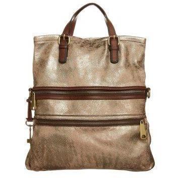 Fossil TOTE Shopping bag metallic