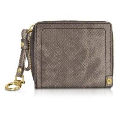Francesco Biasia Jungle - Portemonnaie aus reptilgeprägtem Leder