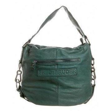 FREDsBRUDER LOLLO rot Handtasche dark grün