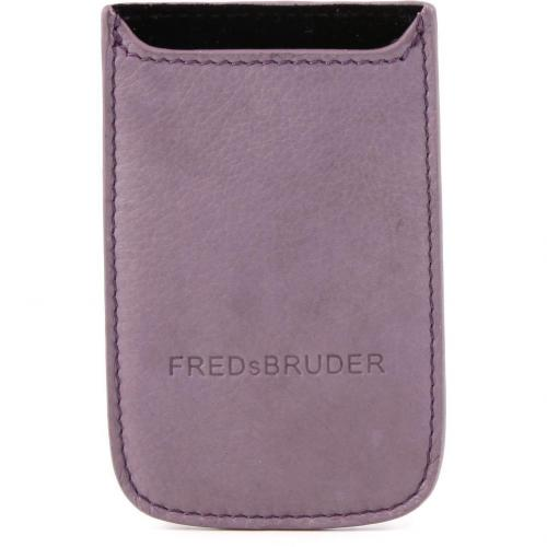 FredsBruder Mobile  Handytasche Leder lila