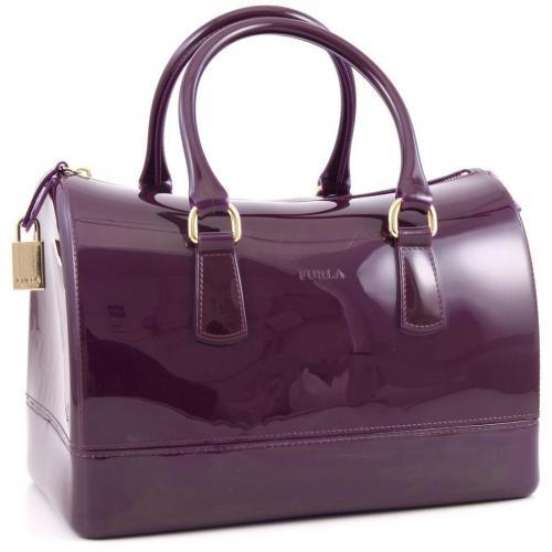 Furla Candy Henkeltasche violett
