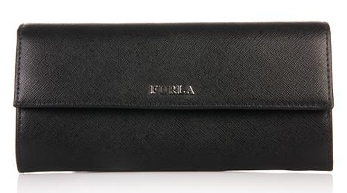 Furla Portemonnaie Classic XL Portafoglio Lettering Onyx
