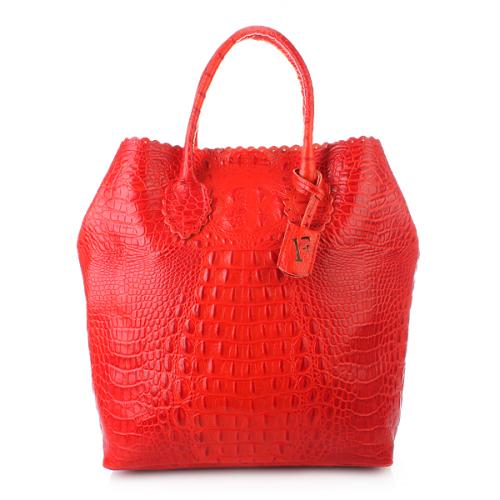 Furla Futura M Shopper Verticale Passion Fruit