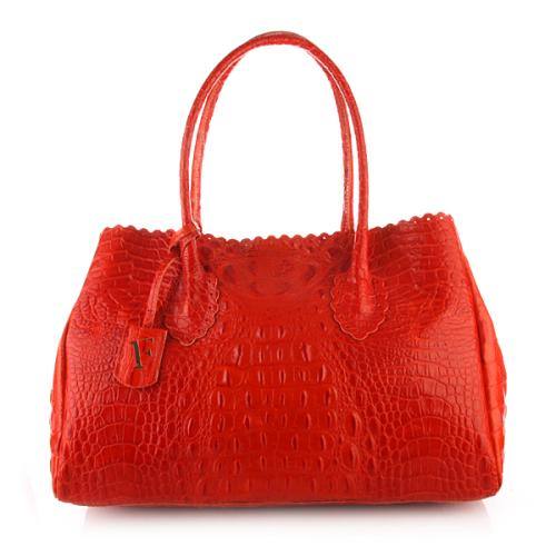 Furla Futura Shopper Est/Ovest Passion Fruit