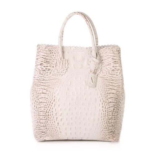 Furla Futura M Shopper Verticale Roccia White