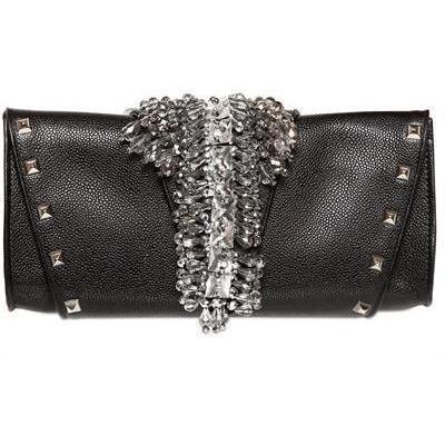 Gedebe - Eleonora Textured Leder Clutch