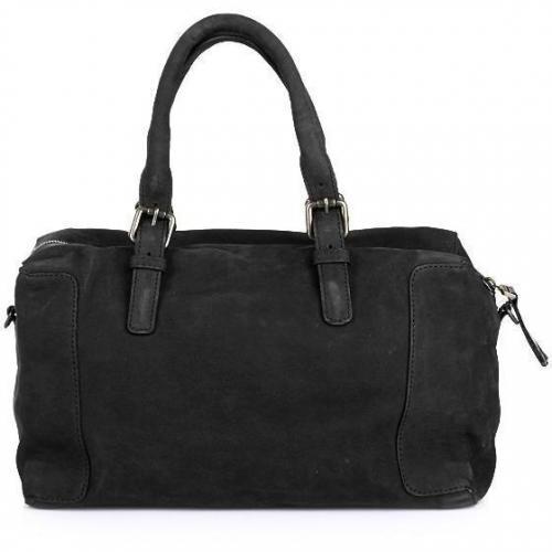 Gerard Darel Santa Fe Plum Bag Noir