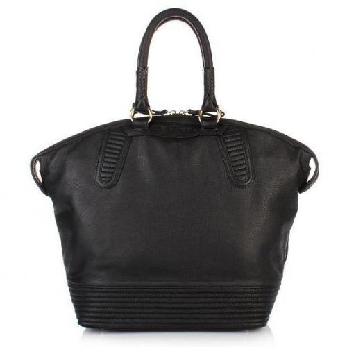 GF Ferré Shopper Black Leather