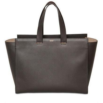 Giorgio Armani - Große Leder Shopping Tasche