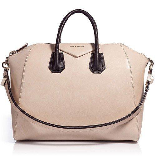 givenchy beige black antigona large size bag. Black Bedroom Furniture Sets. Home Design Ideas