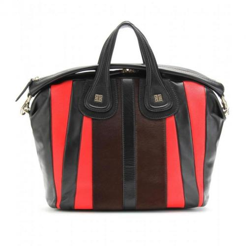 Givenchy Nightingale Ledertasche Brown/Red
