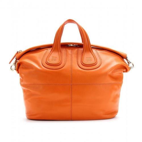 Givenchy Nightingale Ledertasche Dark Orange