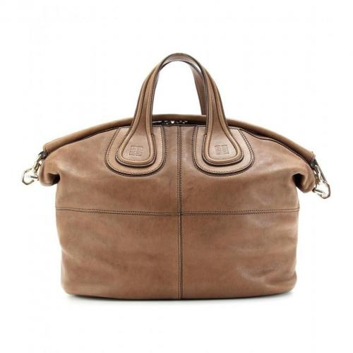Givenchy Nightingale Ledertasche Light Brown