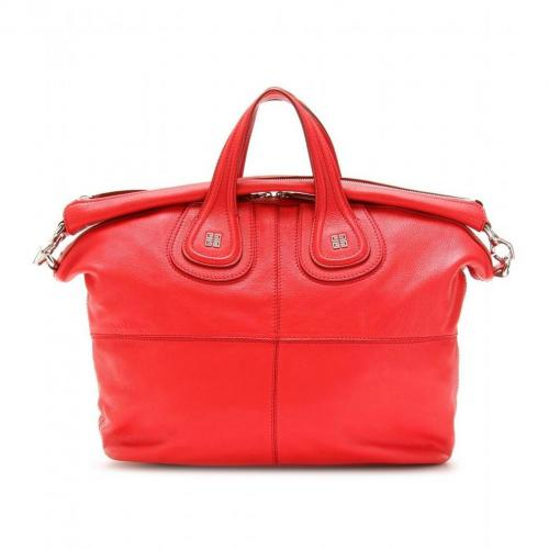 Givenchy Nightingale Ledertasche Red
