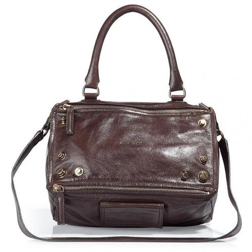 Givenchy The Pandora Dark Brown Medium Bag