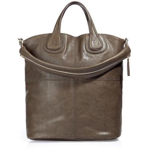 Givenchy The Shopping Nightingale Olive/Purple Bag