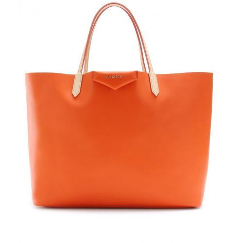 Givenchy Antigona Shopper Leder Orange