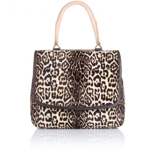 Givenchy Leopard Print Flap-Bag Bunt