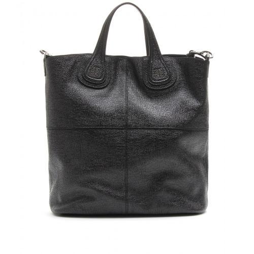 Givenchy Small Nightingale Leder Shopper Schwarz