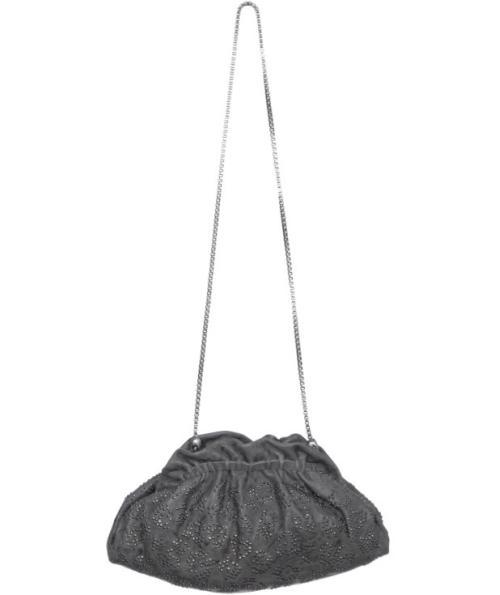 Thomas Wylde Clutch Bag Grau Studs