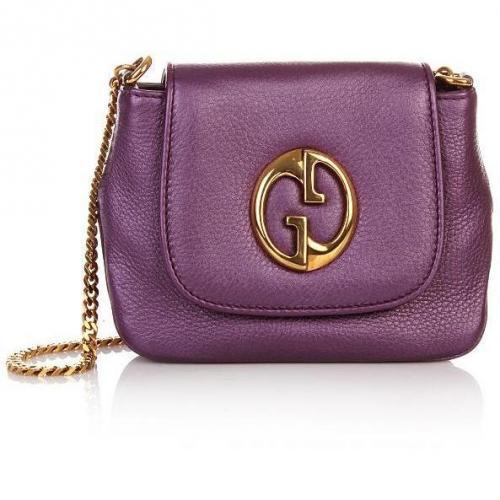 Gucci Purple Gucci Chain Bag