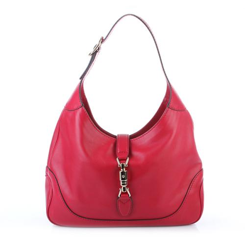 Gucci Jackie Saddle Soft Lux Rot