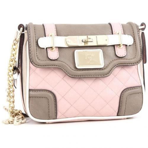 Guess Amour Schultertasche rosa