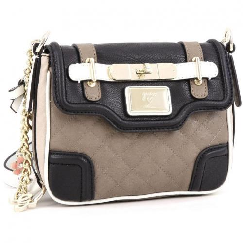 Guess Amour Schultertasche taupe