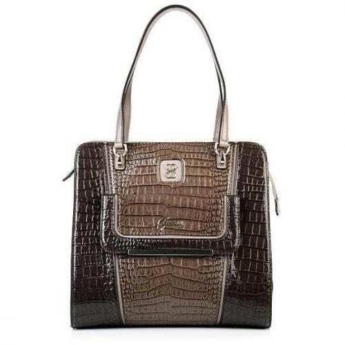Guess Analeigh Small Carryall Brown