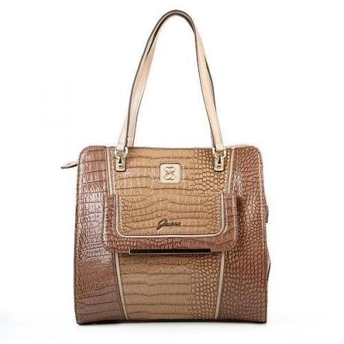 Guess Analeigh Small Carryall Nude