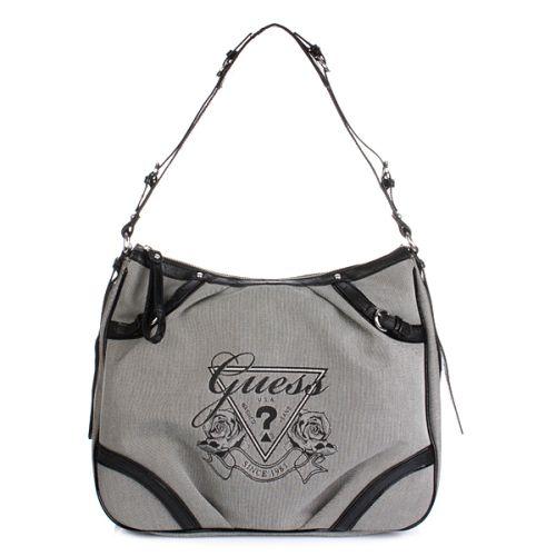 Guess Avignon Shoulder Bag Schwarz