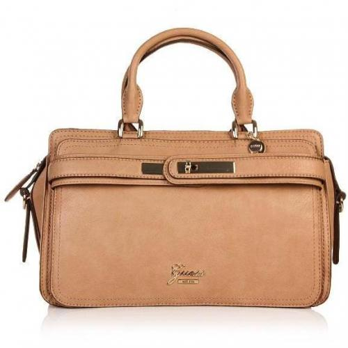 Guess Cheyanne Satchel Tan