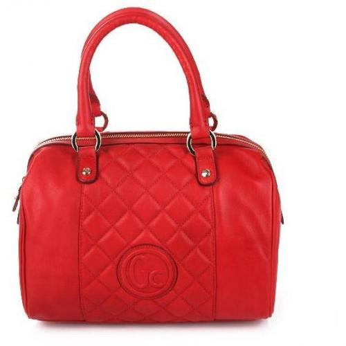 Guess Collection Dazzling Box Bag Red Leather