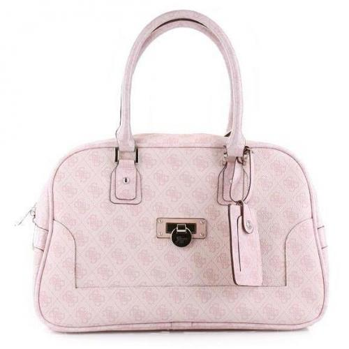 Guess Coventry Small Travel Tote Rose