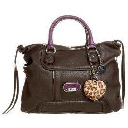 Guess Handtasche taupe multi