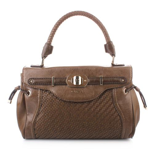 Guess Mauritius Top Handle Flap Taupe