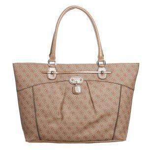 Guess REKKA Shopping bag cognac