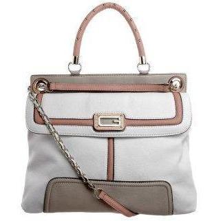 Guess SAUVAGE Handtasche weiß multi