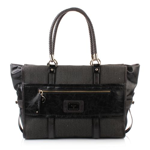 MULTIFEED_START_3_Guess Talina Canvas Tote Black MultiMULTIFEED_END_3_