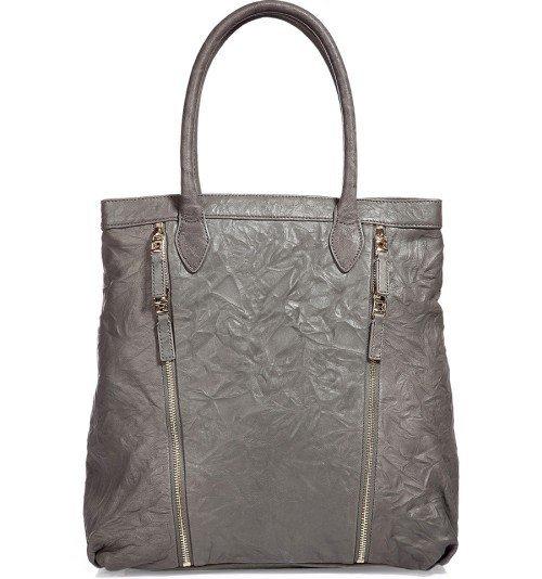 Halston Heritage Tasche Grau Zip-Detailing