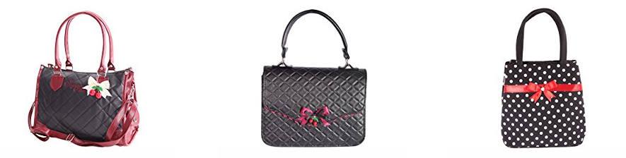 Handtaschen im Rockabilly Stil der 50er Jahre
