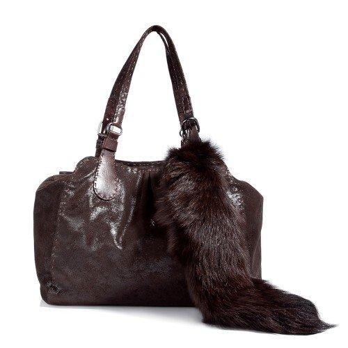 Handtasche mit Fuchsschwanz von Henry Beguelin