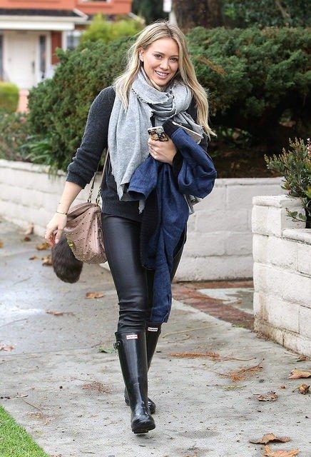 Hilary Duff mit Handtasche
