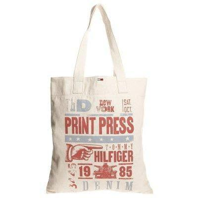 Hilfiger Denim TRISTAN Shopping Bag natural