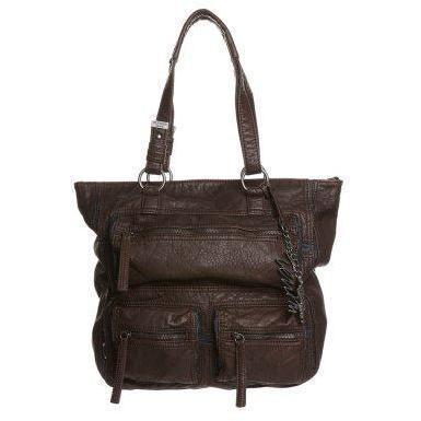 Hilfiger Denim WINTER Shopping Bag dunkelbraun/blue denim