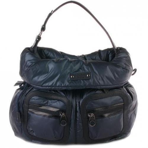 Hogan Curled Bag Trend Blue
