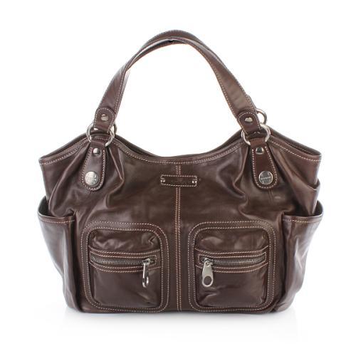 Hogan Nuova Shopping Trend Pelle Marrone