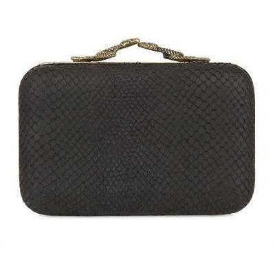 House Of Harlow 1960 - Marley Schlangen Druck Clutch